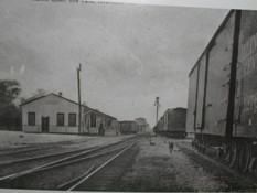 Atlantic Coast Line rail depot circa early 1900s