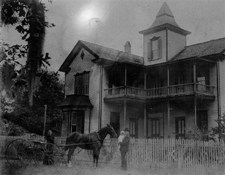 Warnock Family Home (Courtesy of the Citrus County Historical Society)