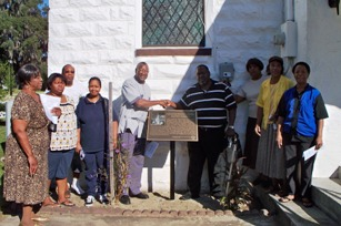 Greater Mt. Carmel Baptist Church plaque dedication