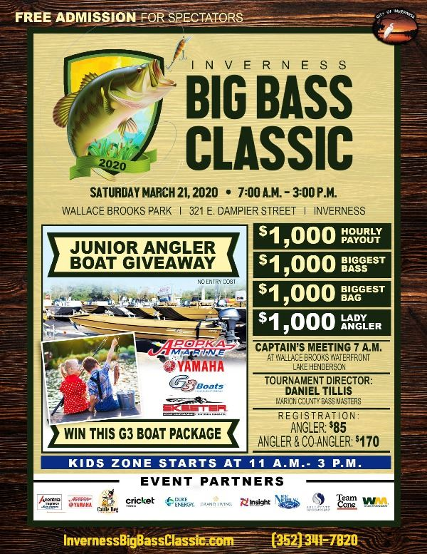 Big Bass Classic Poster