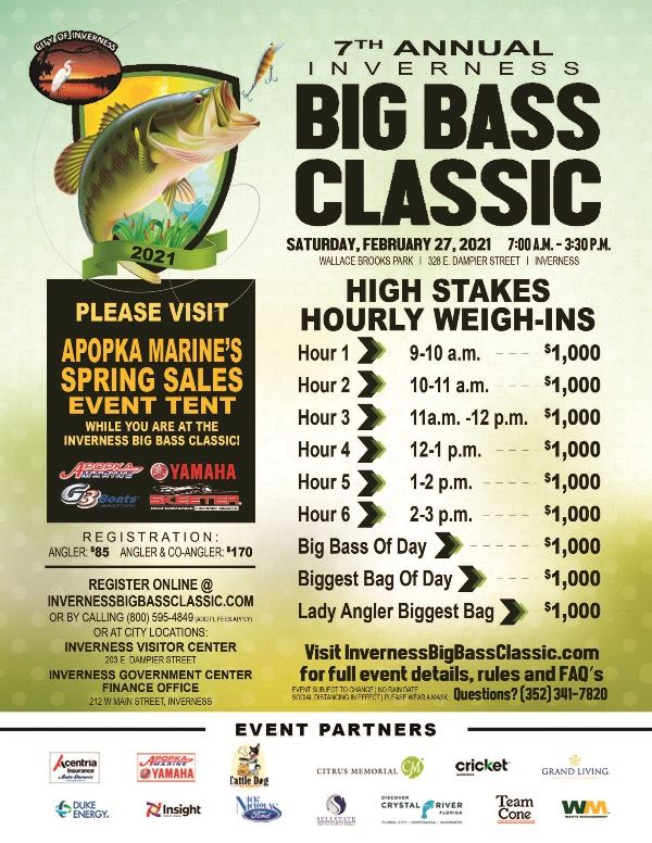 Big Bass Classic Poster 2021