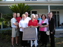 Plaque Dedication